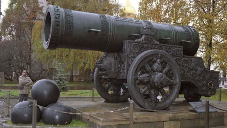 Царь-пушка: шедевр русского гения